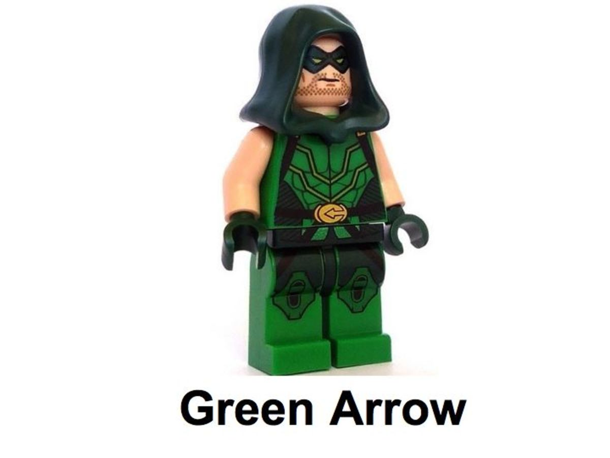 LEGO Super Heroes Green Arrow Minifigure SDCC 2013