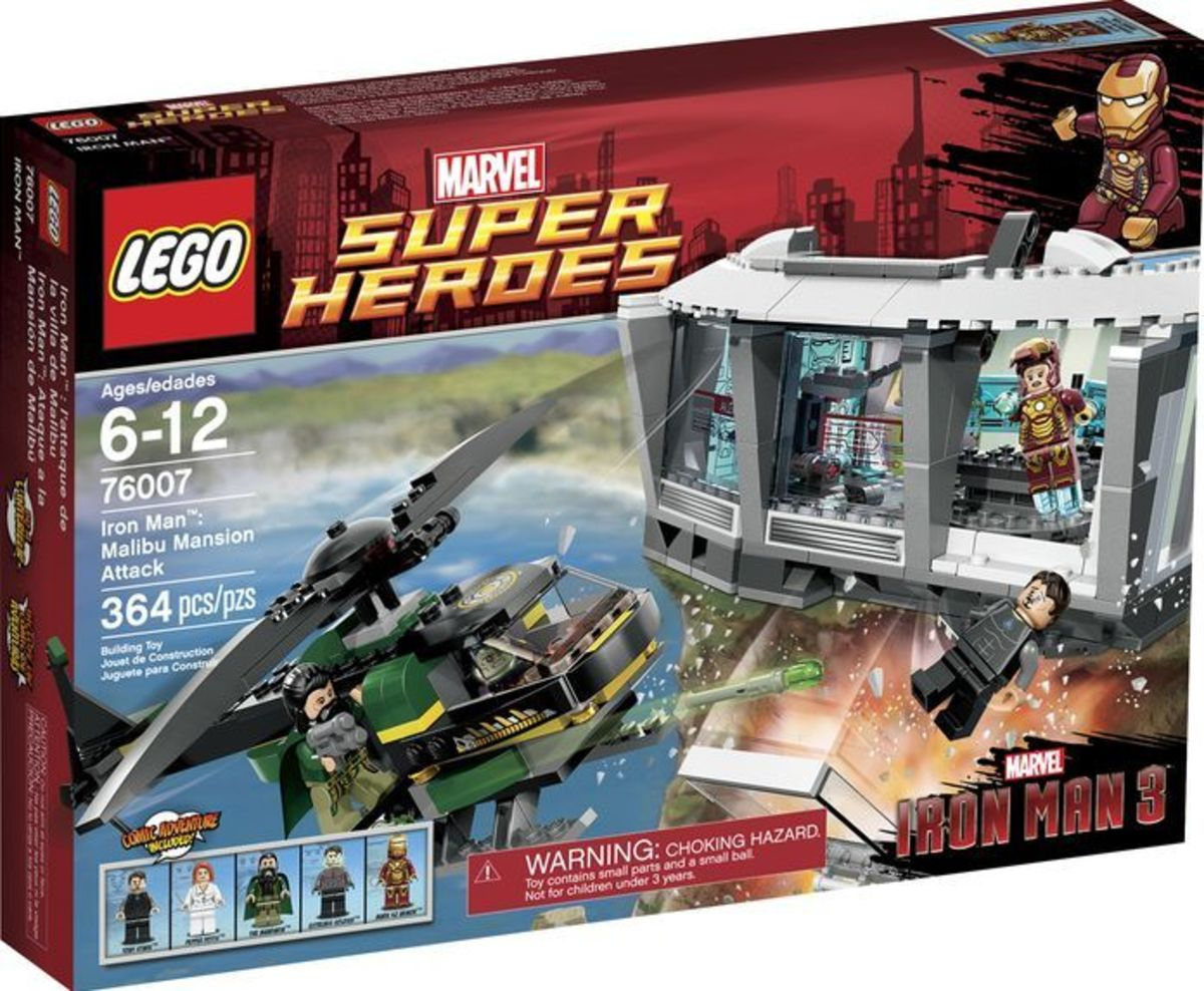 LEGO Super Heroes Iron Man: Malibu Mansion Attack 76007 Box