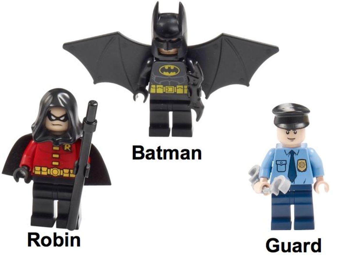 LEGO Super Heroes Batman Arkham Asylum Breakout 10937 Minifigure Heroes