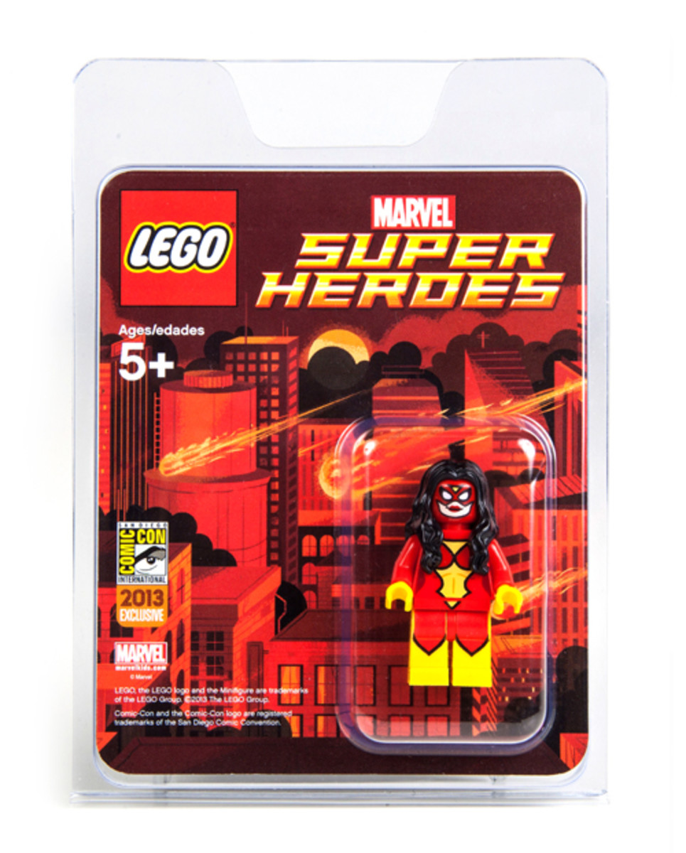 LEGO Super Heroes Spider-Woman Minifigure SDCC 2013 Box