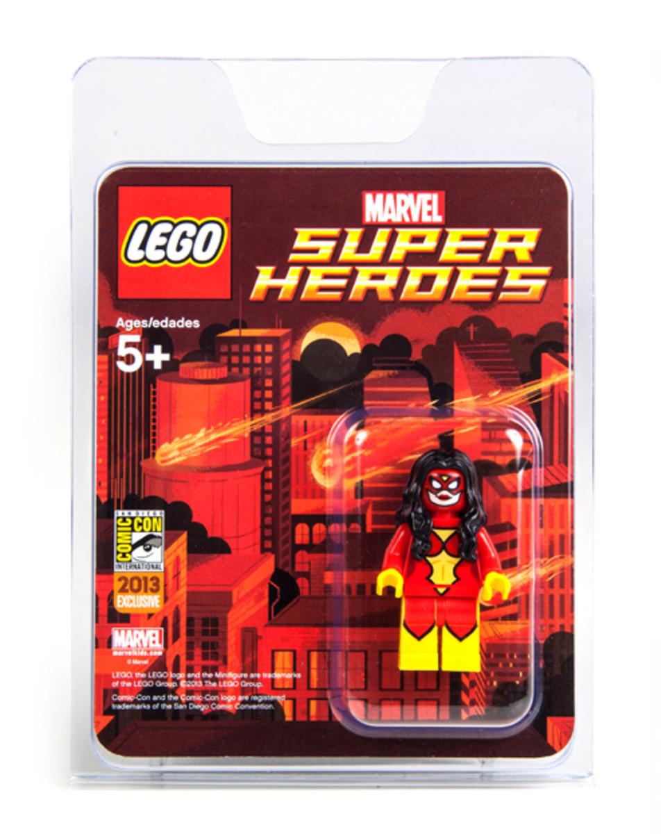 LEGO Super Heroes Spider-Woman Minifigure SDCC 2013 Box