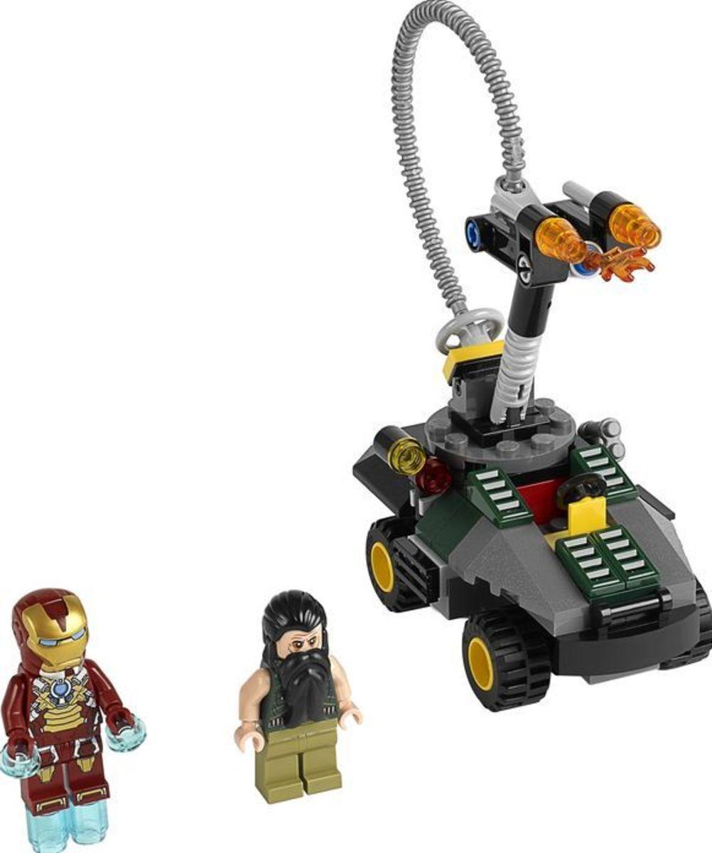 LEGO Super Heroes Iron Man vs The Mandarin: Ultimate Showdown 76008 Assembled