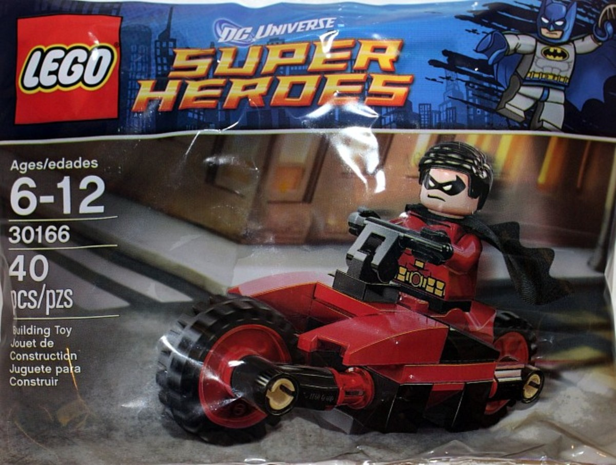 LEGO Super Heroes Robin and Redbird Cycle 30166 Polybag