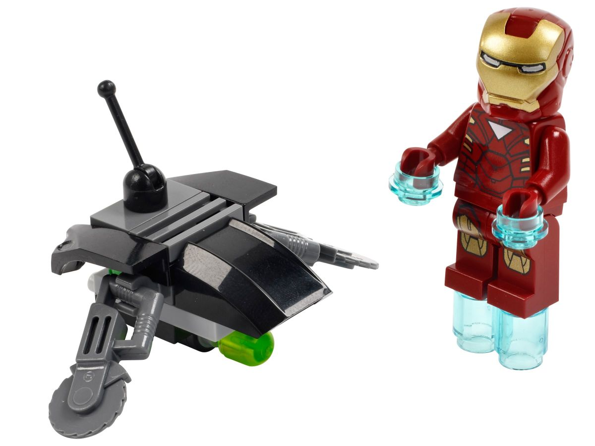 LEGO Super Heroes Iron Man vs Fighting Drone 30167 Assembled