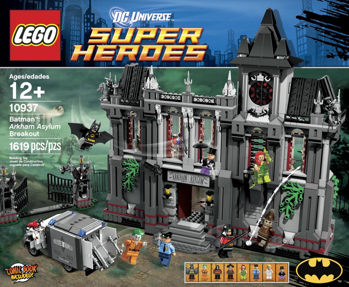 LEGO Super Heroes Batman Arkham Asylum Breakout 10937 Box