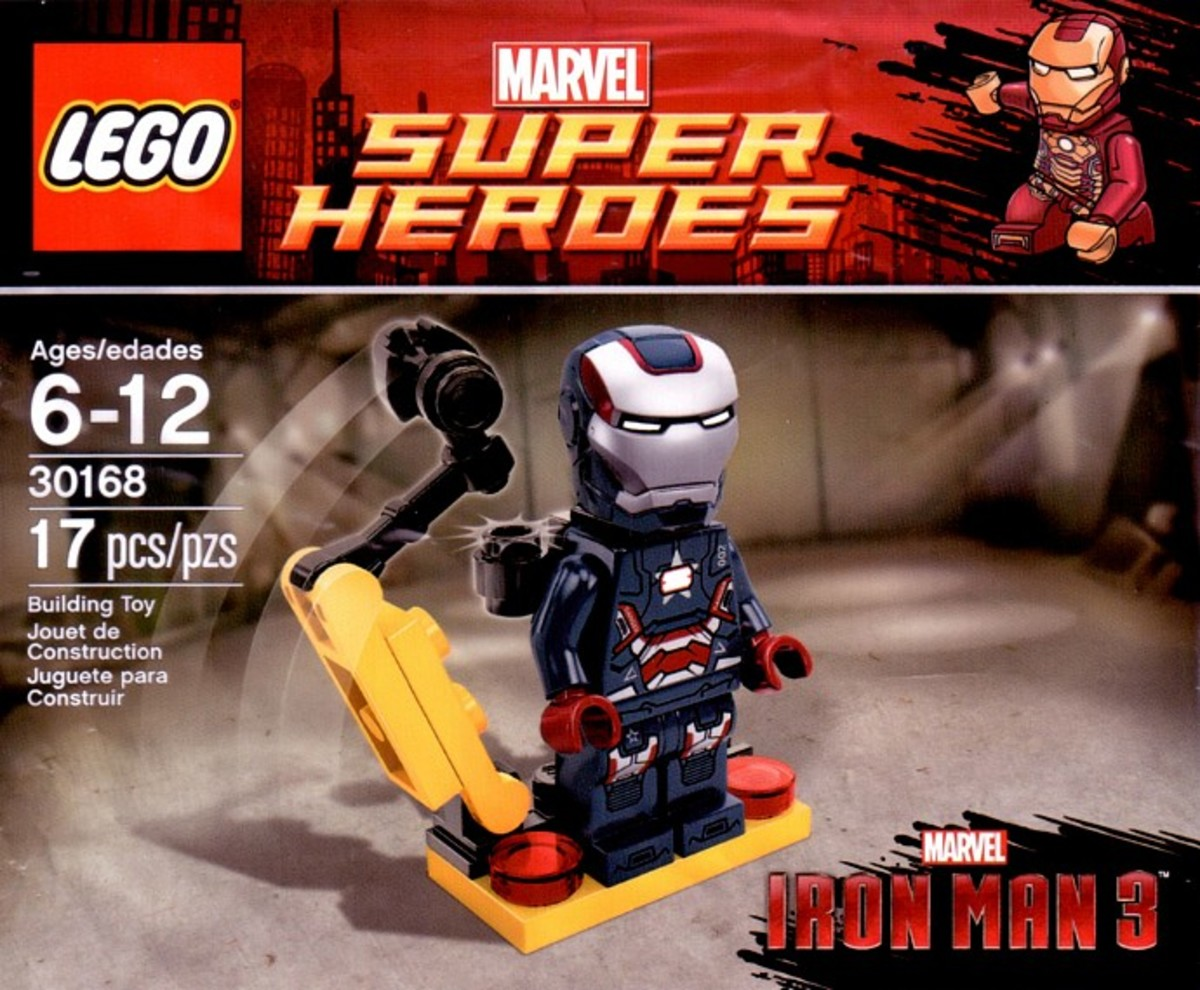 LEGO Super Heroes Gun Mounting System 30168 Polybag