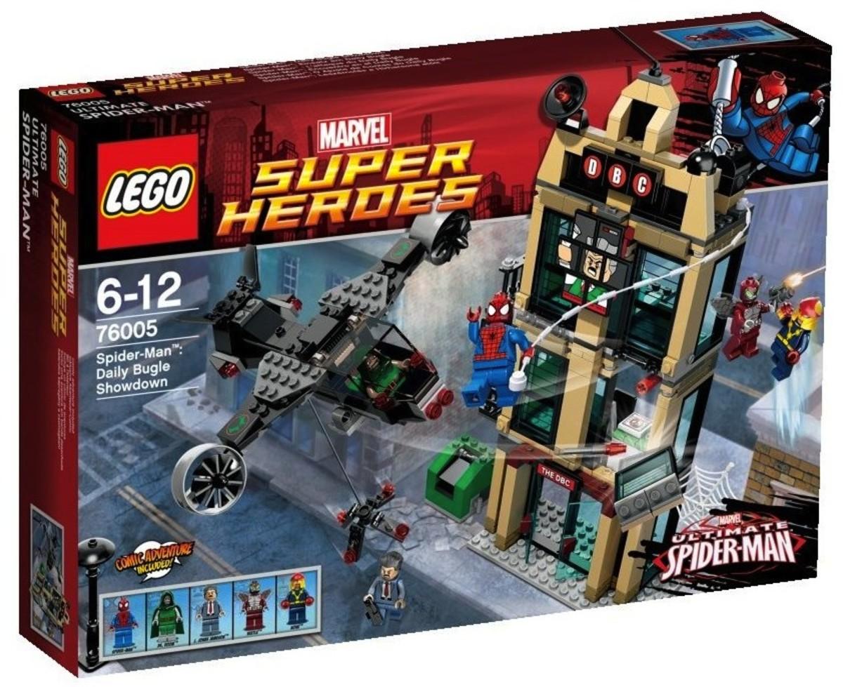 LEGO Super Heroes Spider-Man: Daily Bugle Showdown 76005 Box