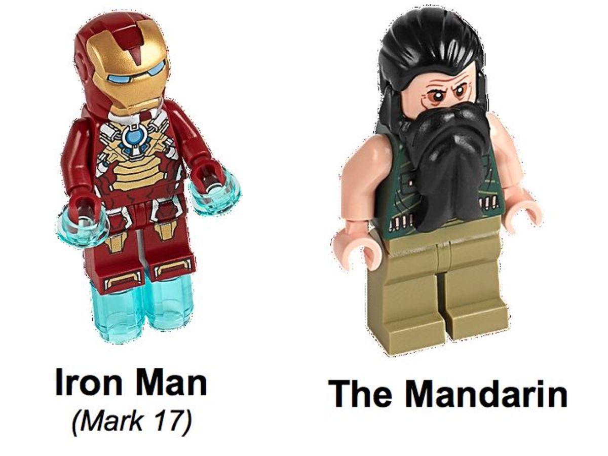 LEGO Super Heroes Iron Man vs The Mandarin: Ultimate Showdown 76008 Minifigures