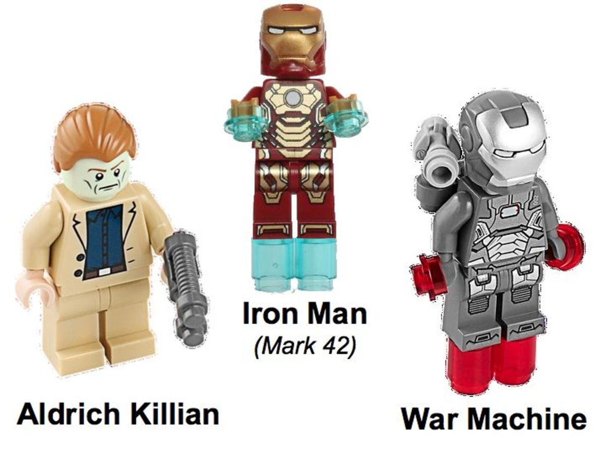 LEGO Super Heroes Iron Man: Extremis Sea Port Battle 76006 Minifigures