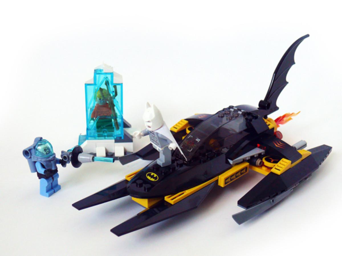 LEGO Super Heroes Arctic Batman vs Mr. Freeze: Aquaman on Ice 76000 Assembled
