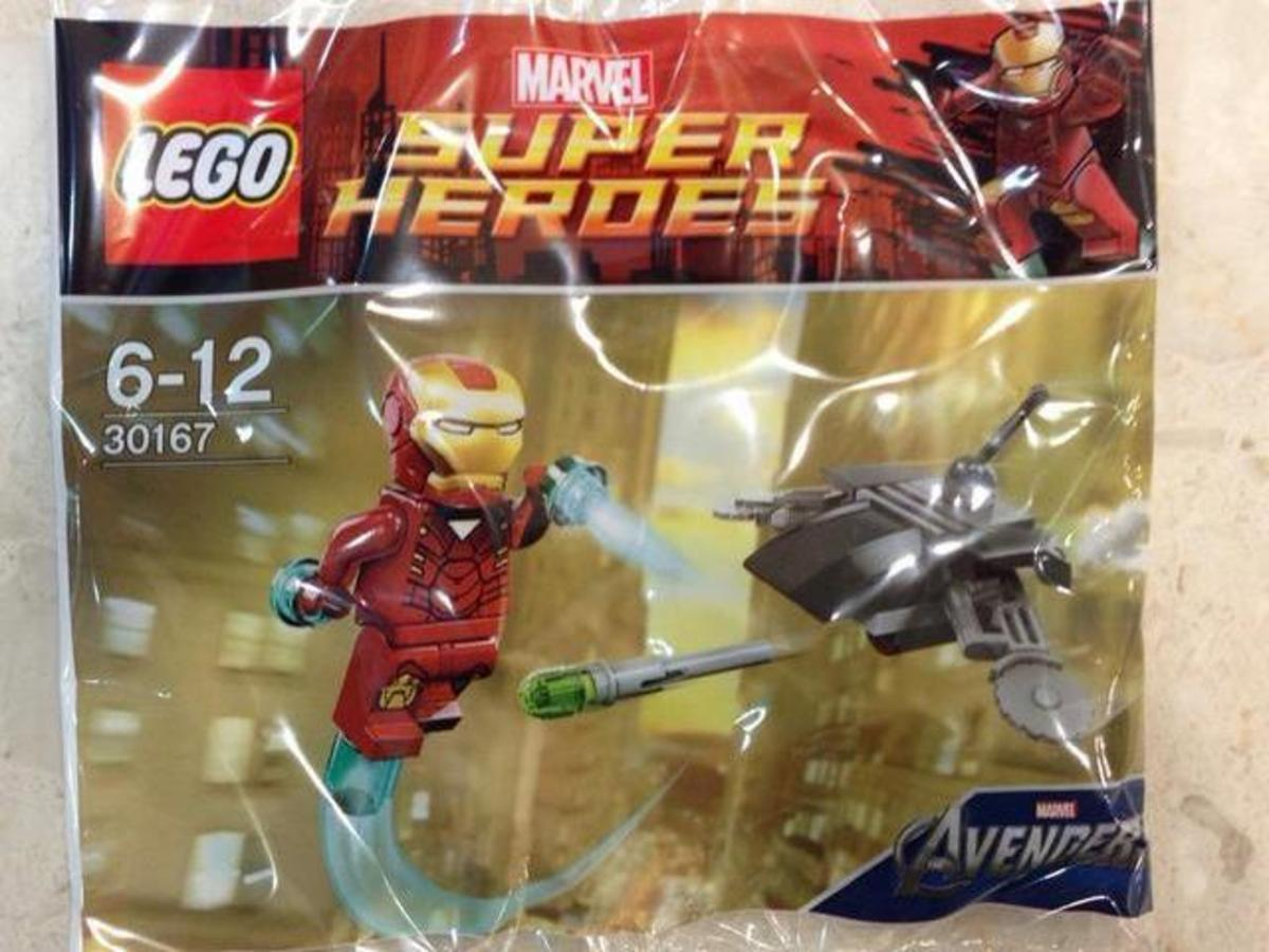 LEGO Super Heroes Iron Man vs Fighting Drone 30167 Bag