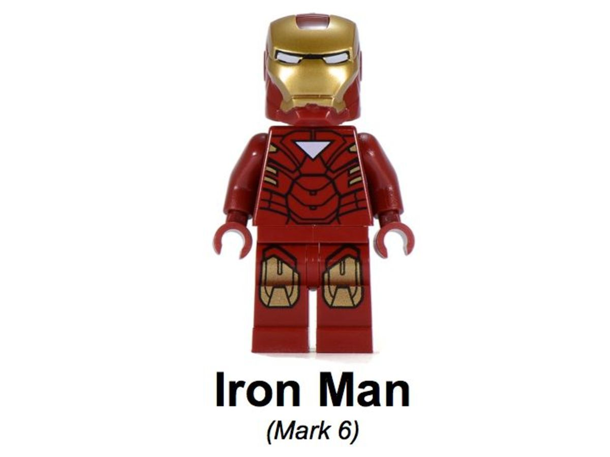 LEGO Super Heroes Iron Man vs Fighting Drone 30167 Iron Man Mark 6 Minifigure