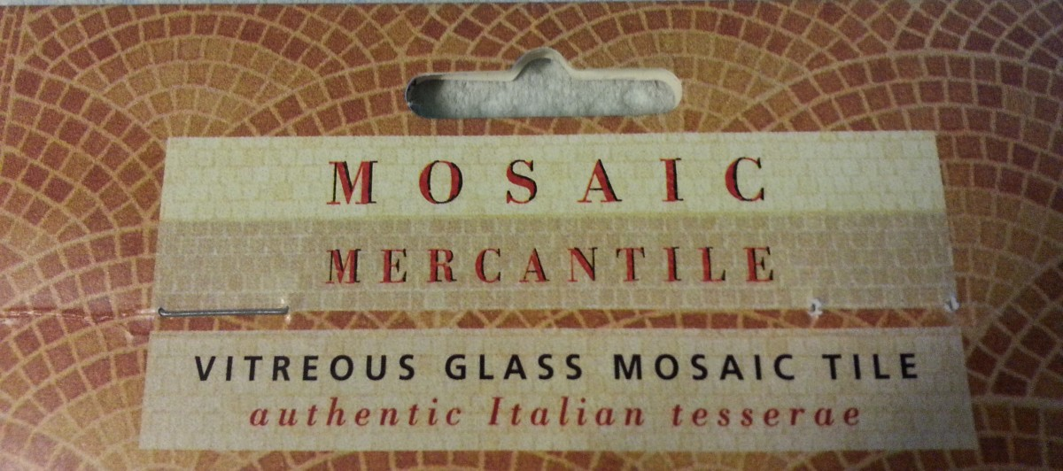 Mosaic Authentic Italian Tesserae Tiles