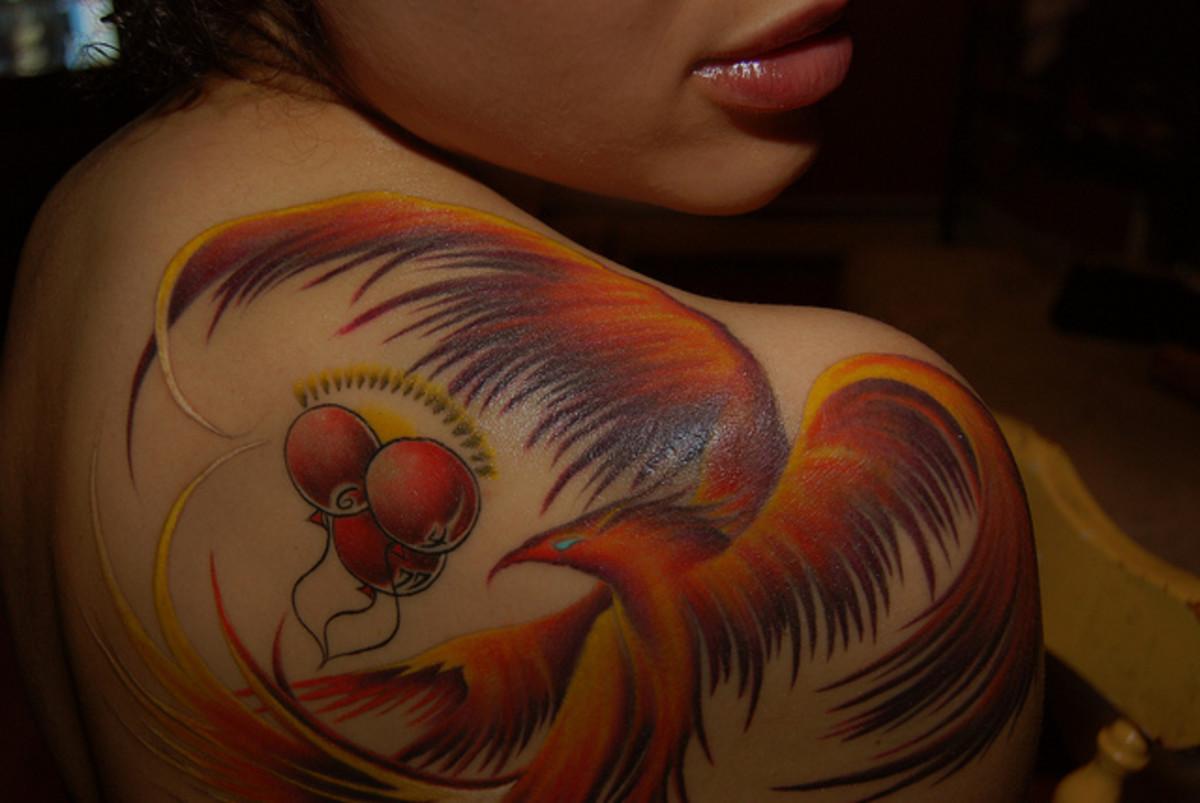 Eagle Tattoo Image for women