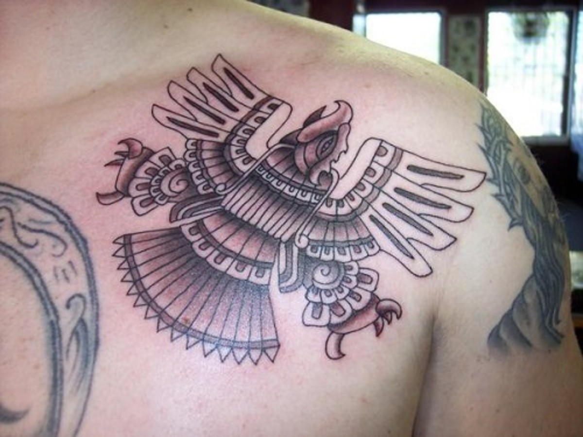 Tribal Eagle Tattoo Image