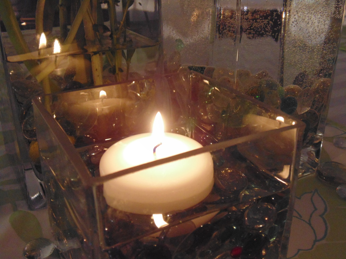 Save a little energy and add a little light and heat with a candle burning bright