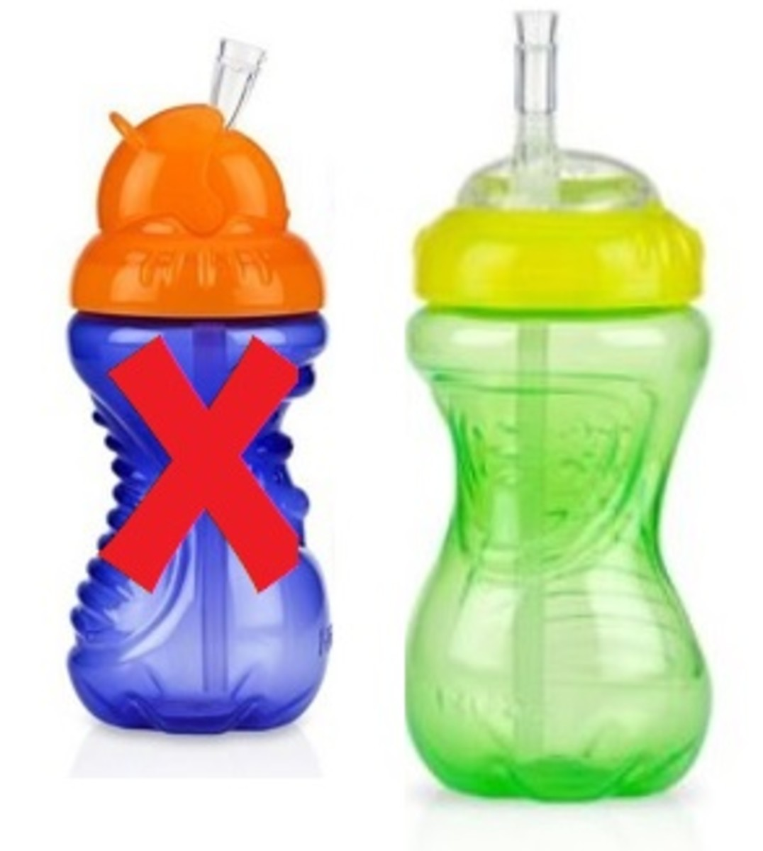 Best Nuby Sippy Cup Review - Straw Cup vs. Flip-it Cup