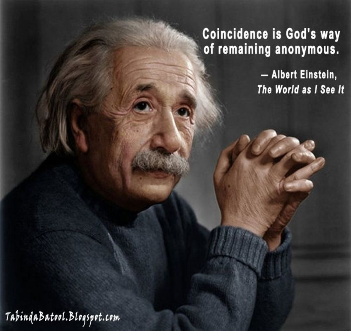 "Quote by Albert Einstein from 'The World As I See It""."