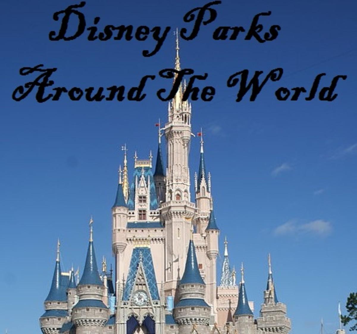 disney world parks list