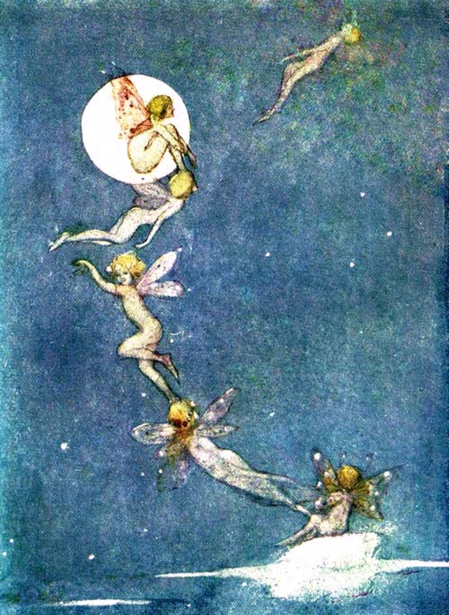Fairy Drawing: The Project Gutenberg EBook of Stories from the Ballads, by Mary  MacGregor