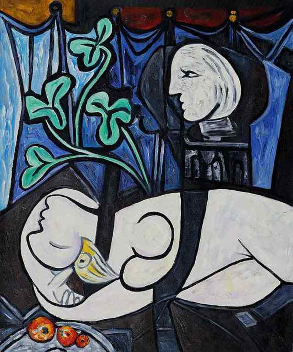 Artwork analysis 'Nude, Green Leaves and Bust' by Pablo Picass