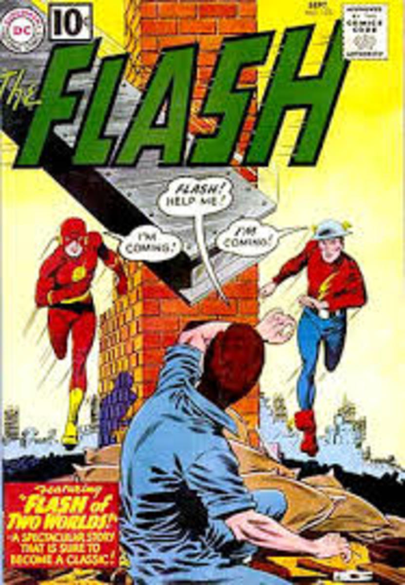 The Silver/ Golden Age Flashes meet.