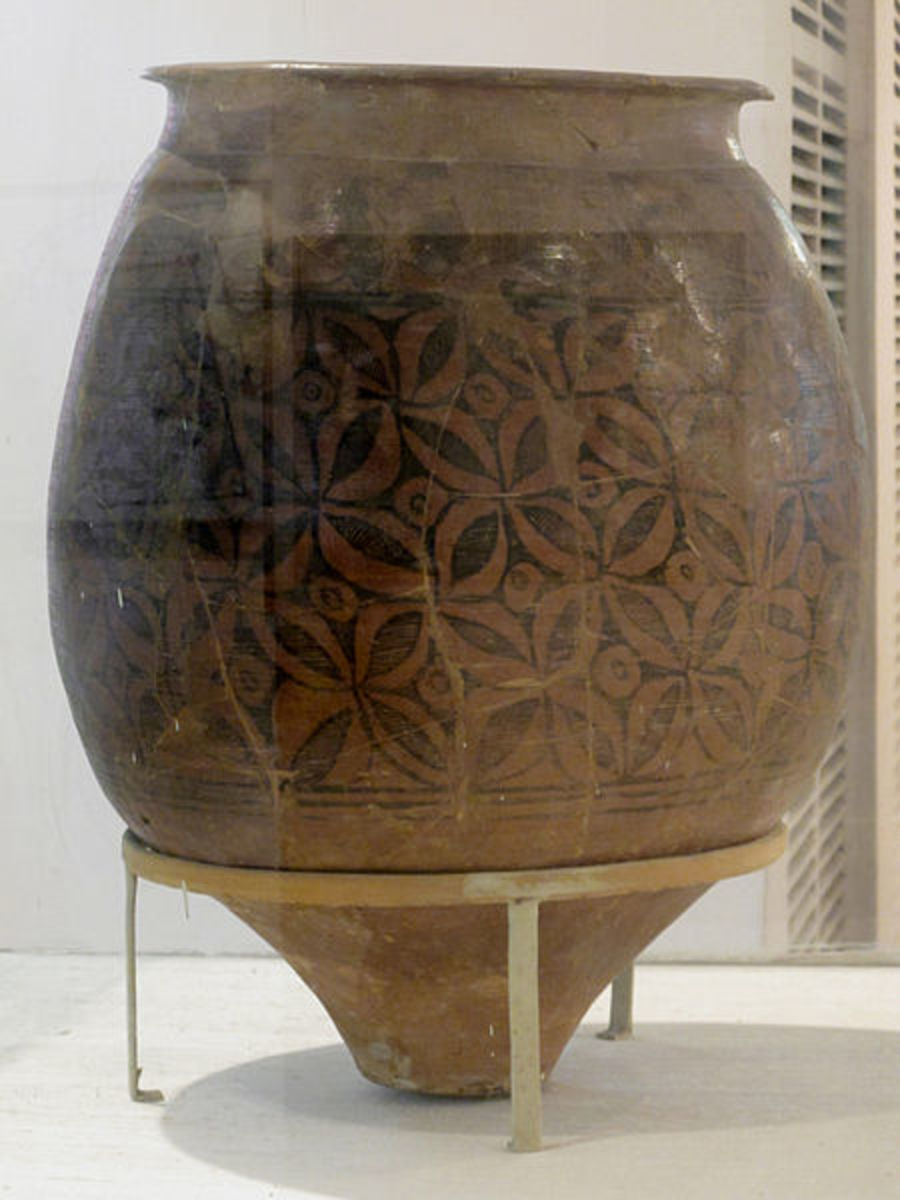 Storage jar. C. 2700-2000 BC. Mature Harappan period
