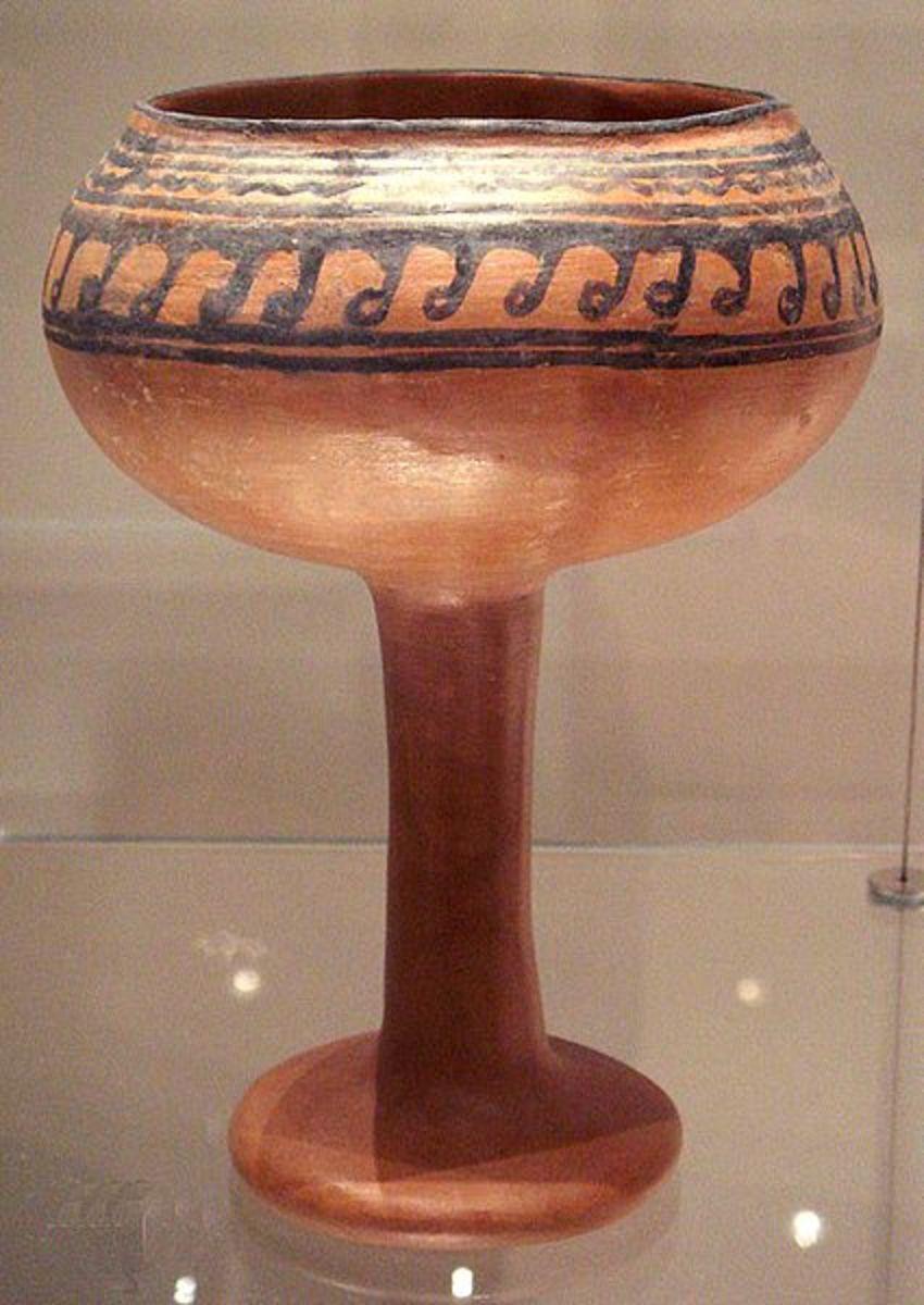 Goblet from Navdatoli, Malwa, ca. 1300 BCE