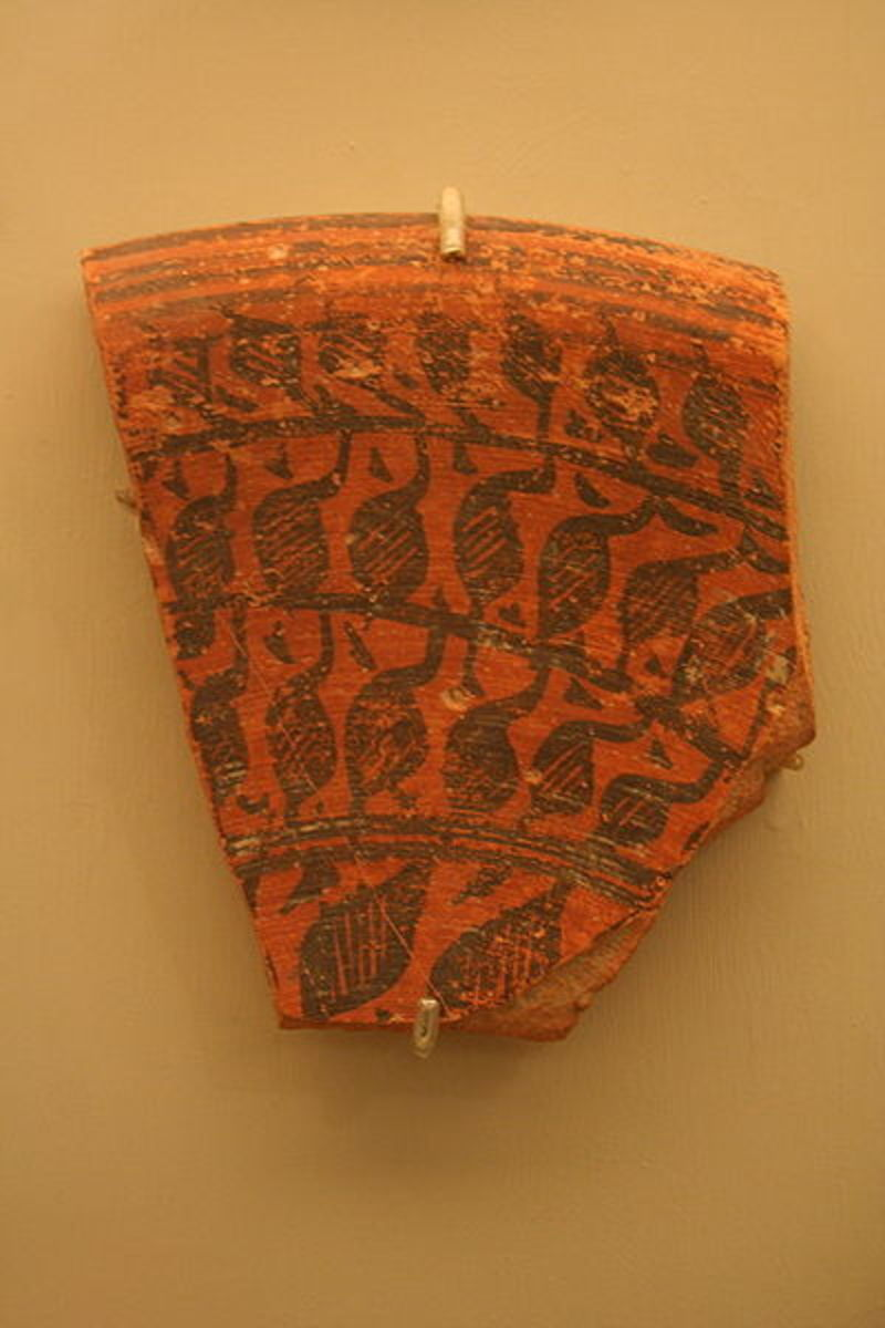 Harappa Fragment of Large Deep Vessel, circa 2500 B.C.E.