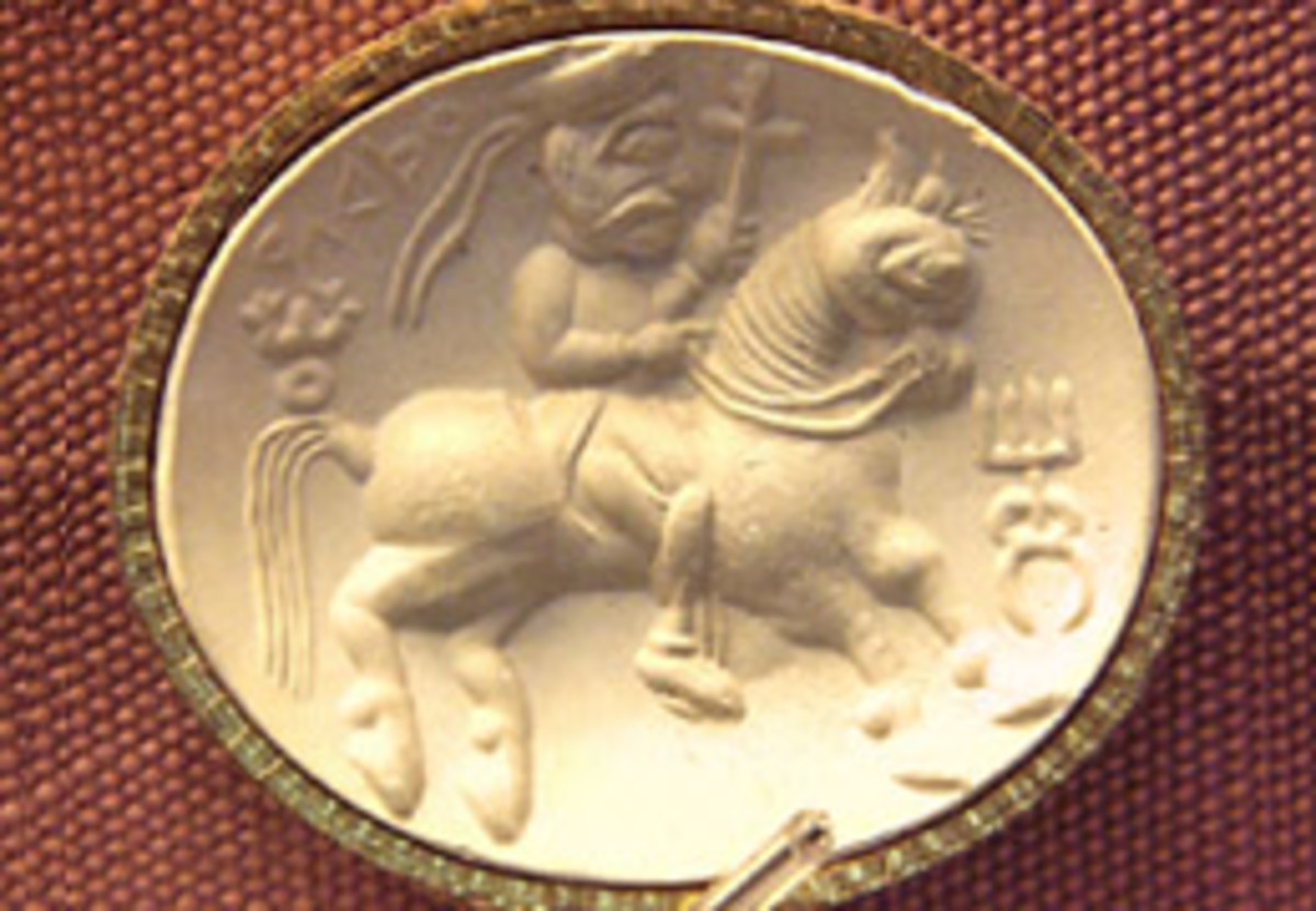 The Kushan seal