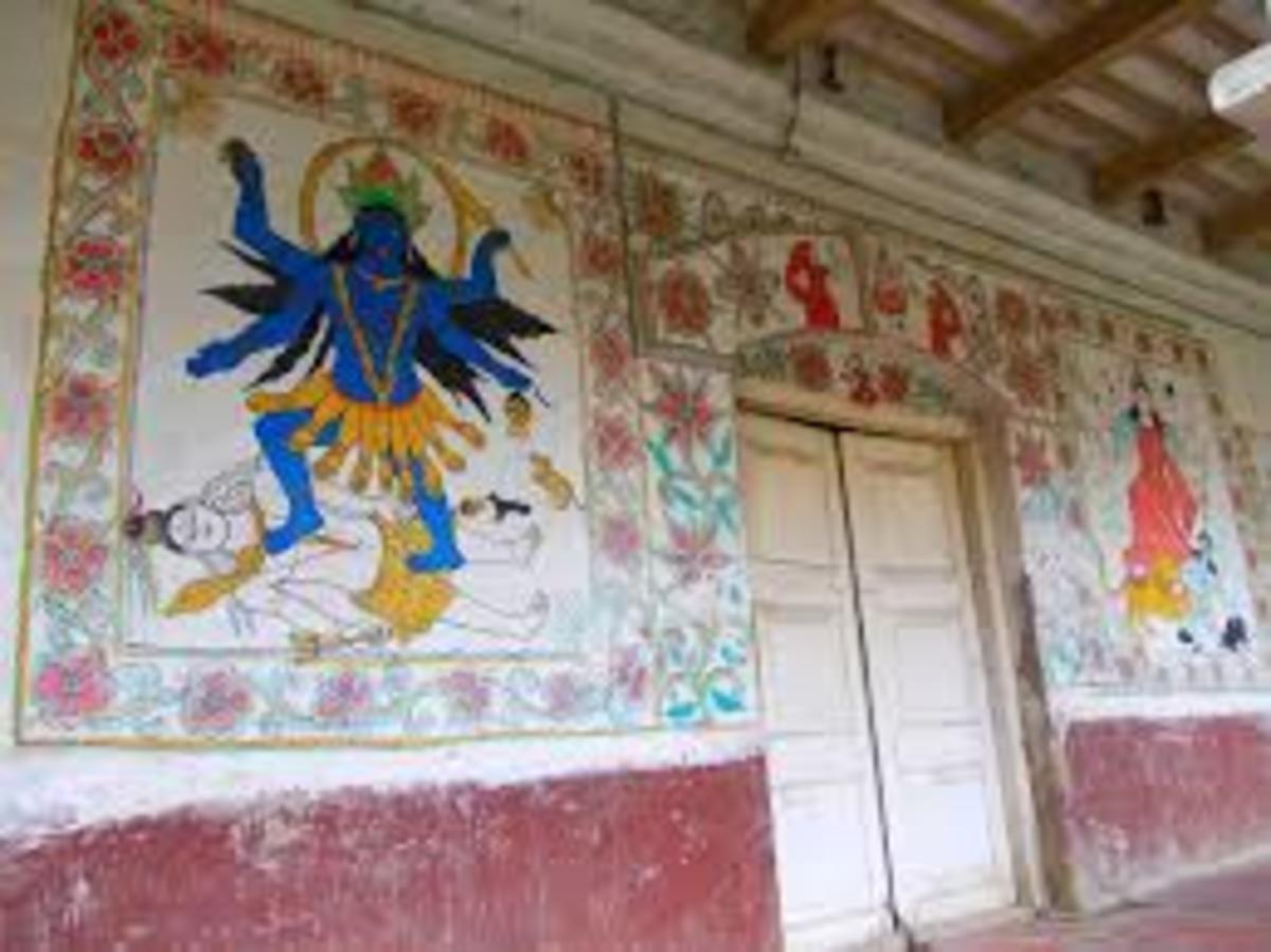 The art was traditionally practiced by rural women who painted on the walls and floor of their house during social events like marriage, sacred thread.