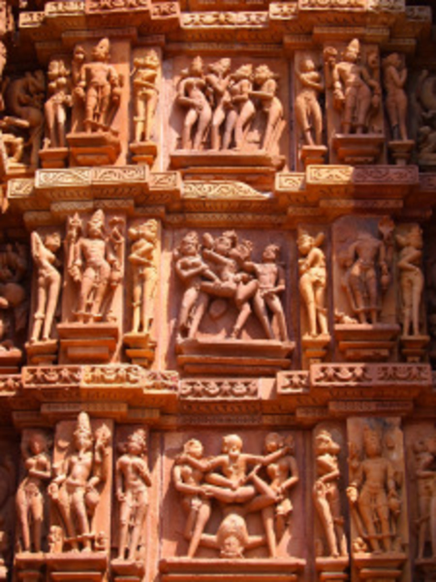 kandariya-temple  2nd century AD  Kushan period