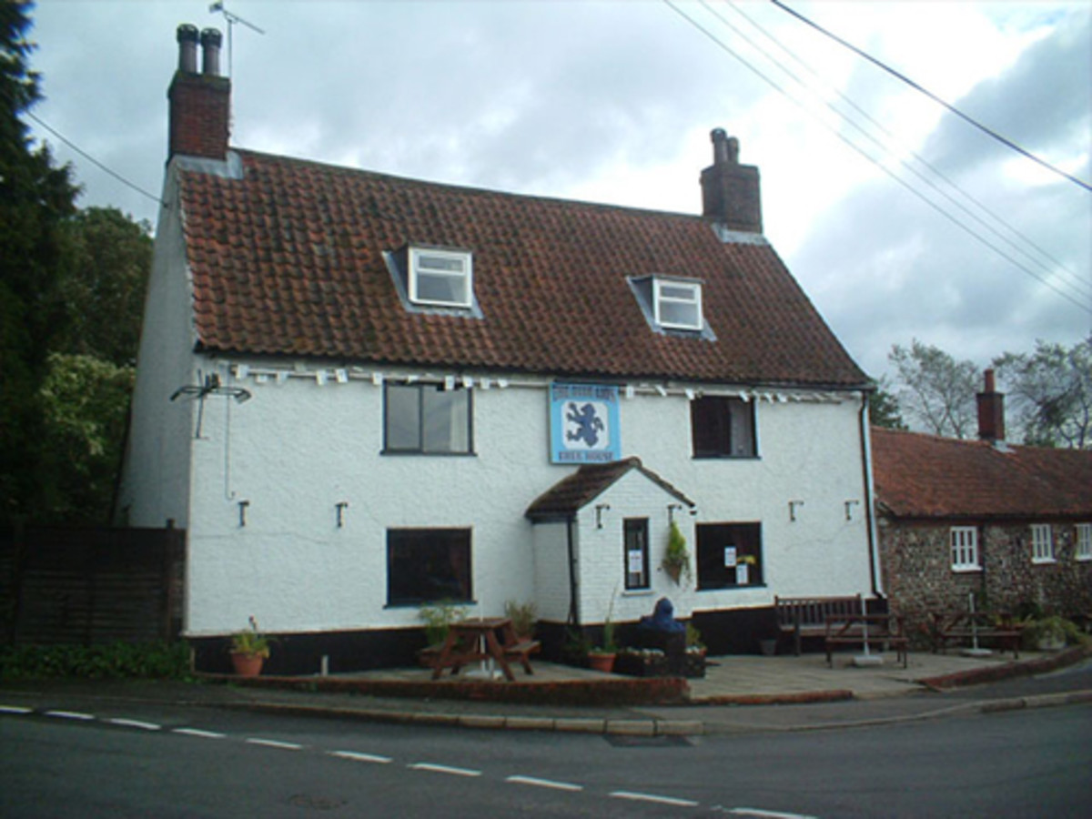 The Blue Lion Pub that was located near the base at North Pickenham. It was in existence before war and is still in existence.