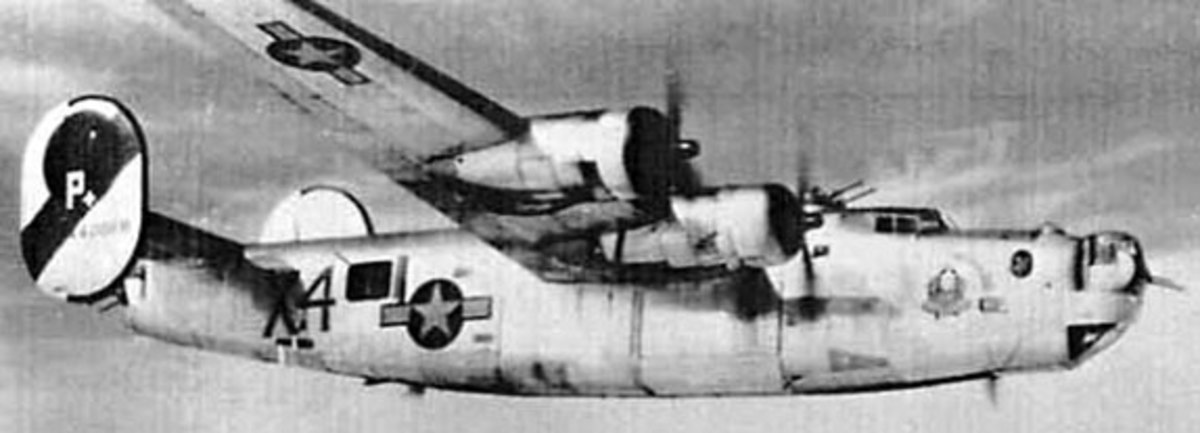 Aircraft (44-40068) flown by Bowman and crew May 31, 1944 the day after the training crash.  The aircraft was known as Umbriago. It was named after a song from Jimmy Durante.