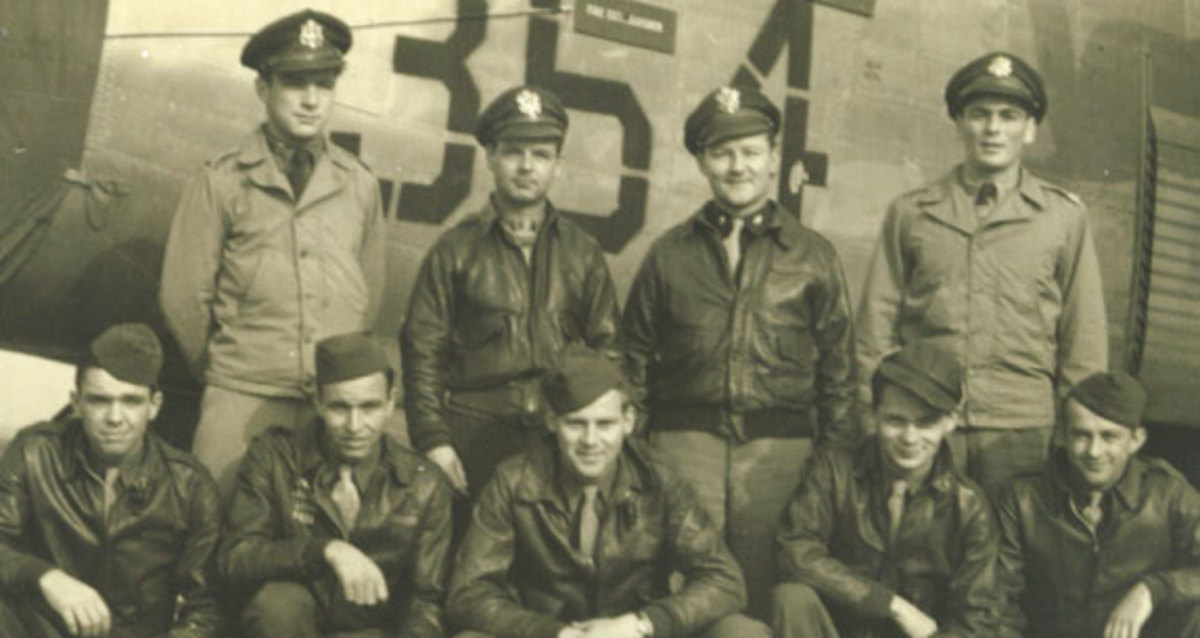 James L. Bowman & Crew 914 of the 492nd Bomb Group During World War 2.