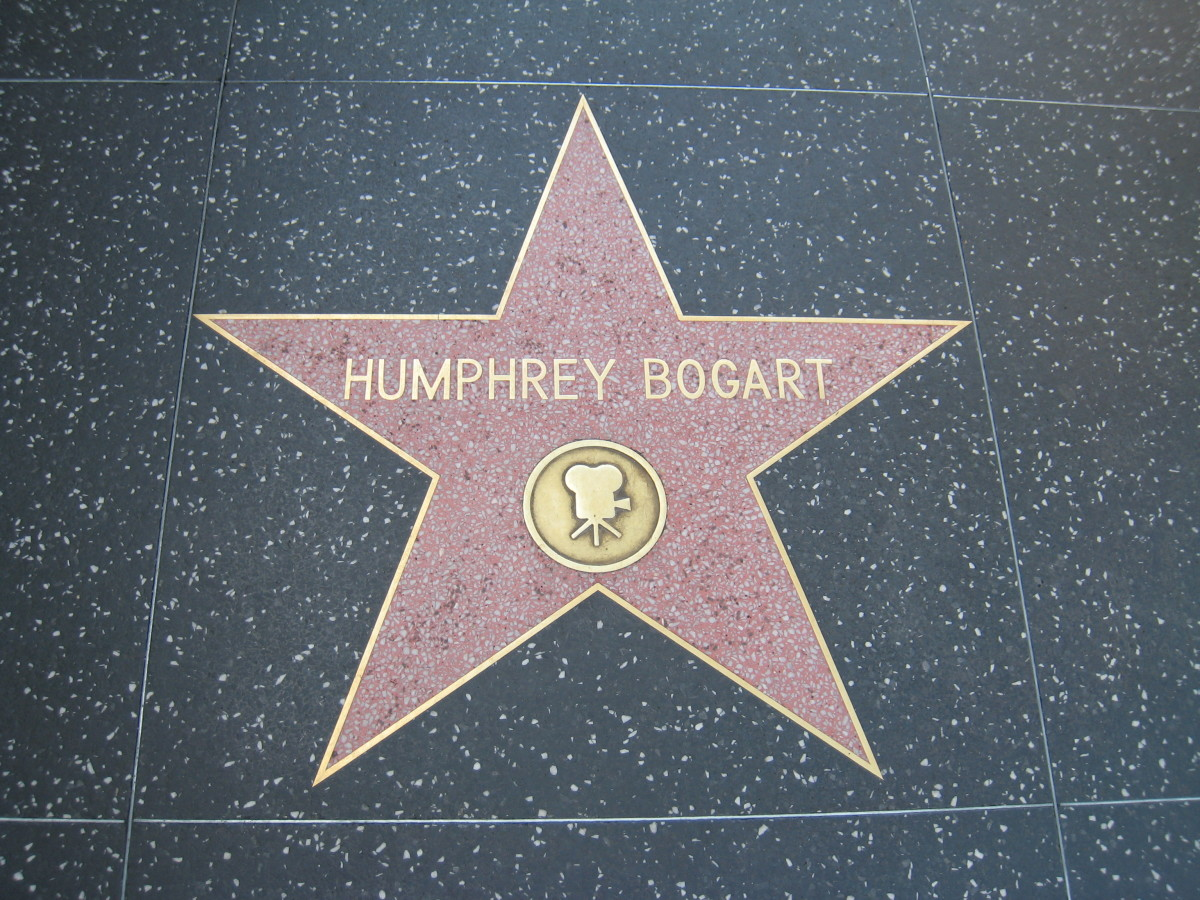 Humphrey Bogart's Star - Hollywood Walk of Fame