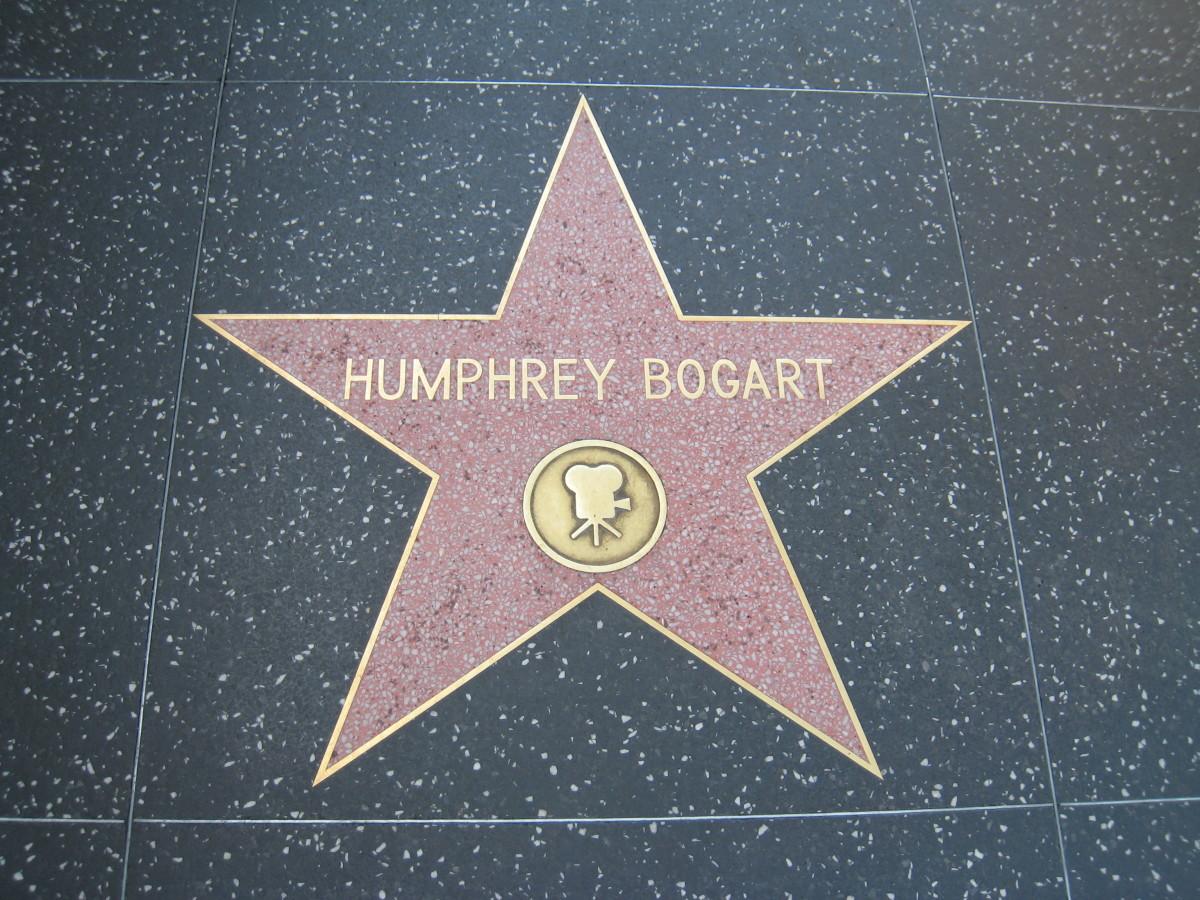 Humphrey Bogart's Star - Hollywood Walk of Fame