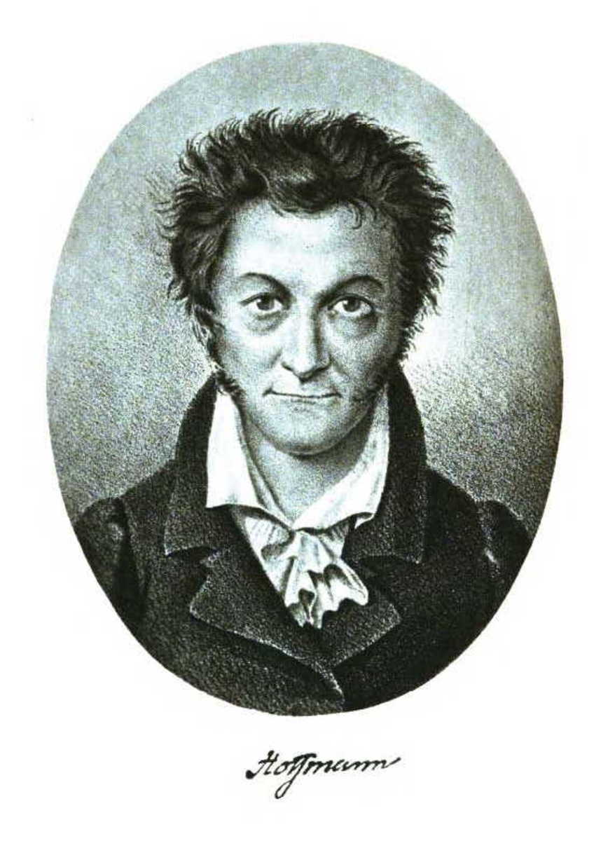 A portrait of E.T.A Hoffmann
