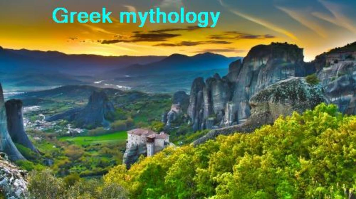 Greek mythology and poem