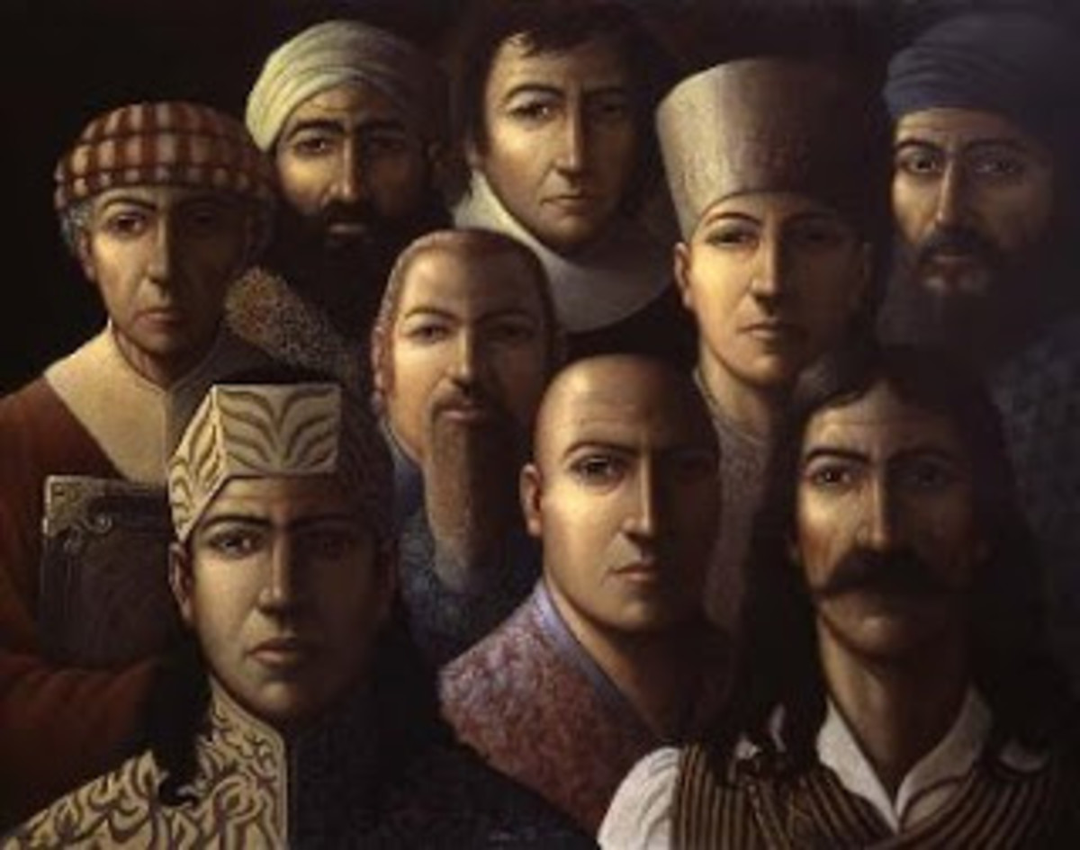The nine unknown men said to be the keepers of the most astounding and dangerous knowledge ever known to man-kind!