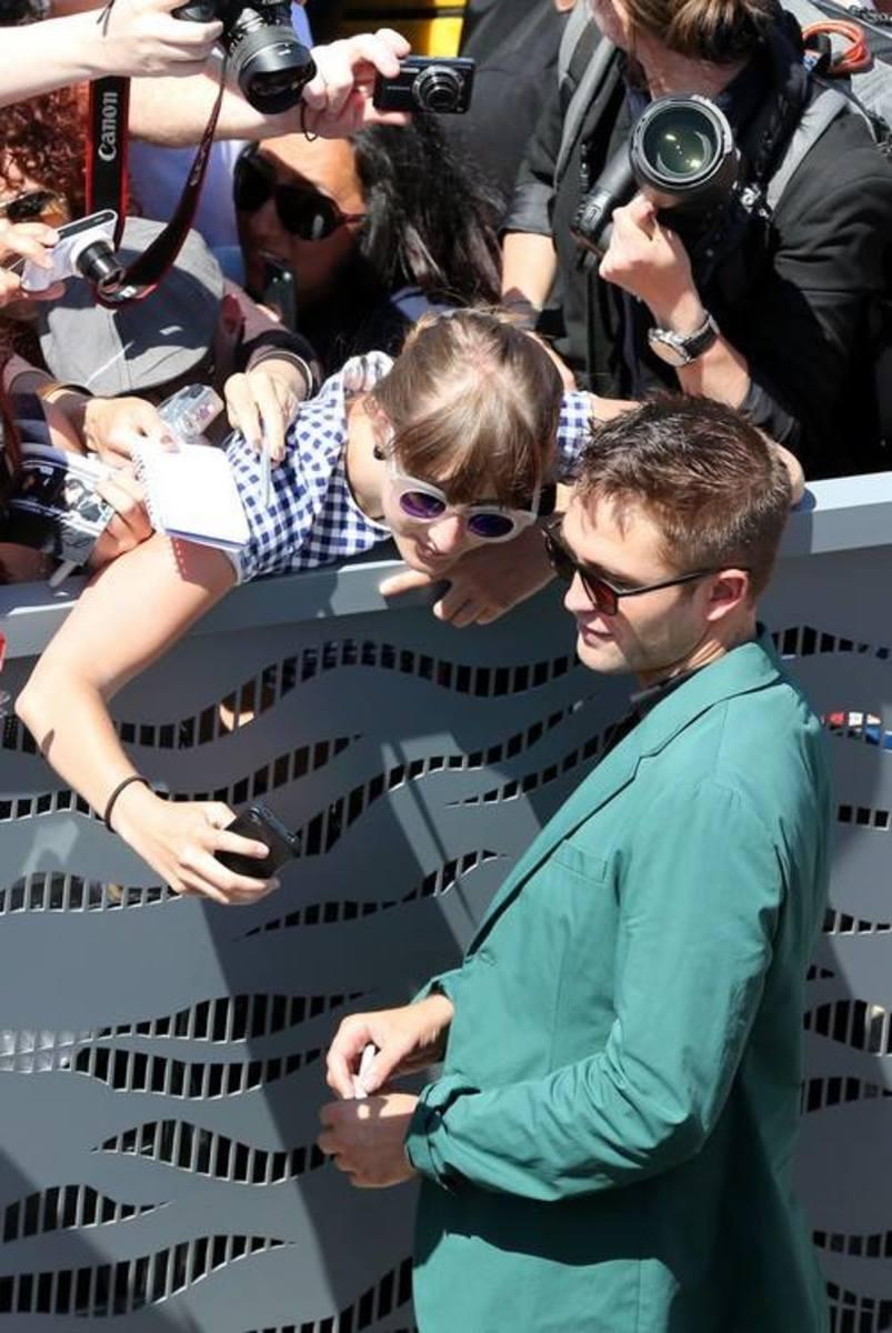 Robert Pattinson, Cannes 2014. Photo: FameFlyNet