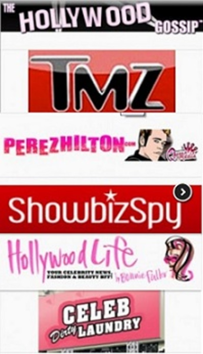 Sampling of online-only tabloids.