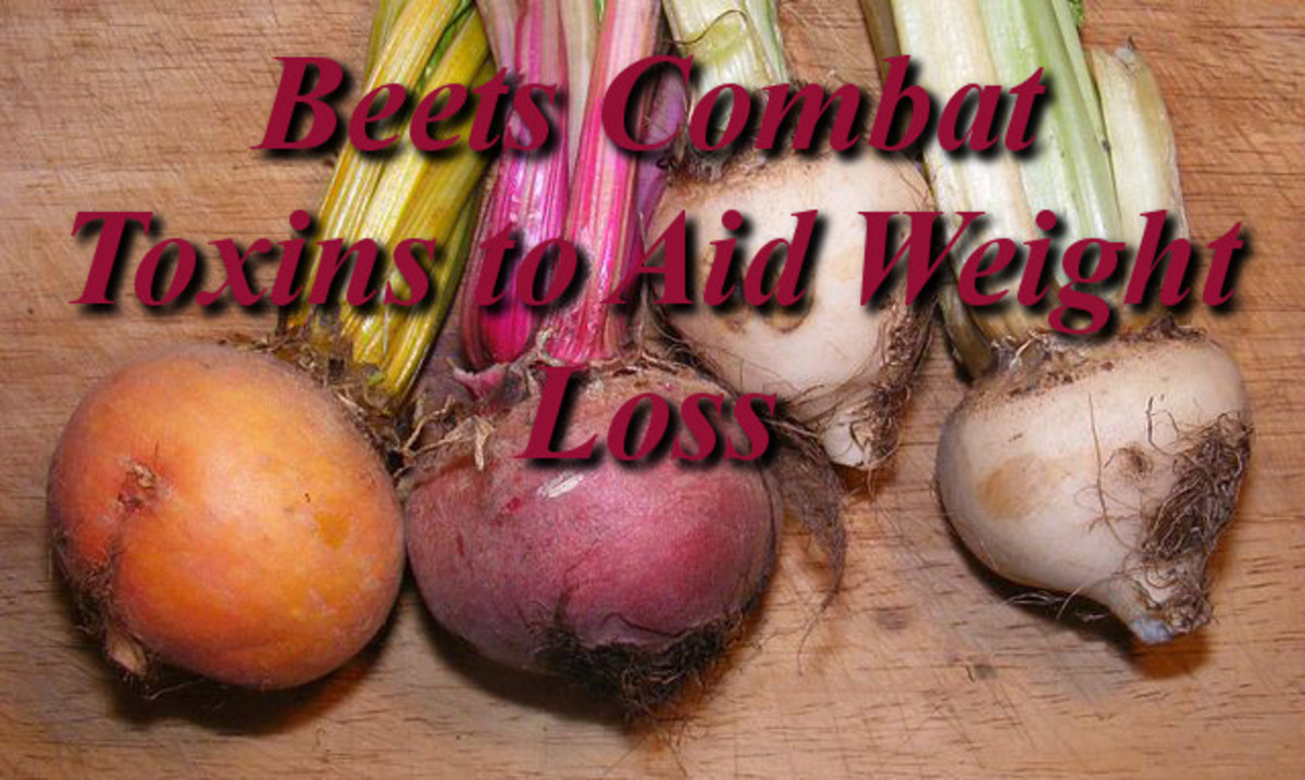 Beets combat Toxins for Weight Loss