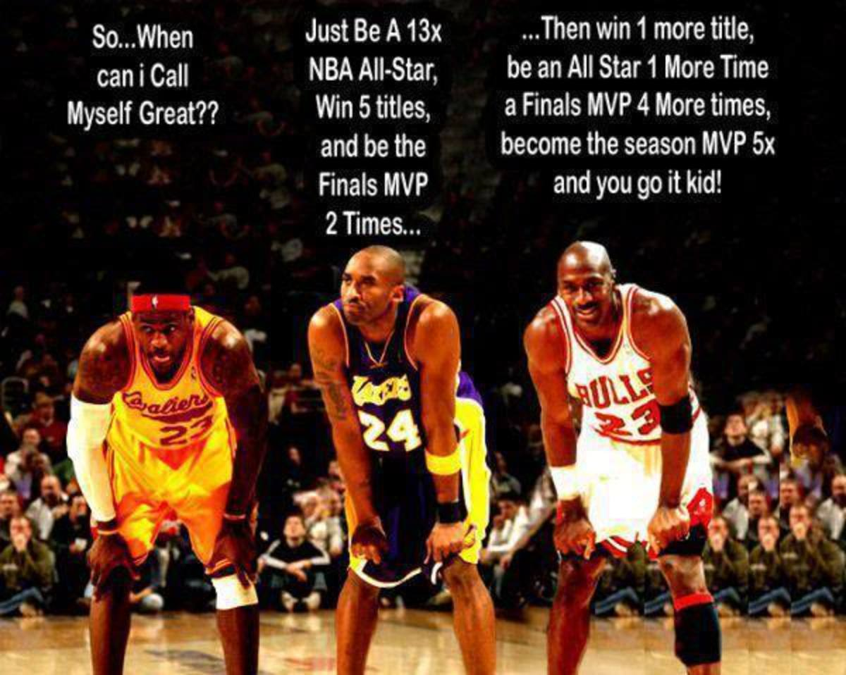 Michael Jordan, Kobe Bryant or Lebron James. Who Do You Choose?