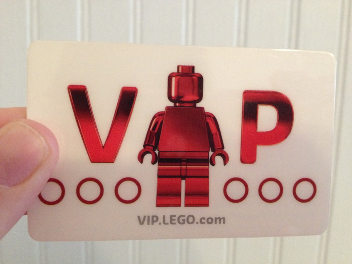 Like other rewards cards, the VIP card has a UPC on the back to individualize it for each member.