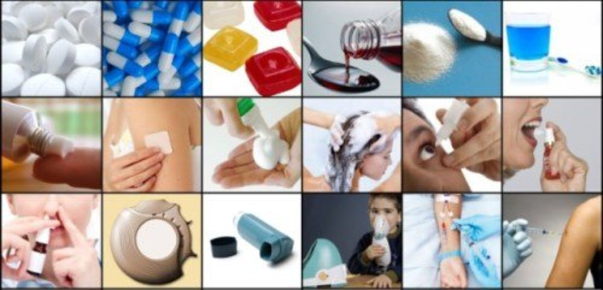What are the dosage forms of drugs?