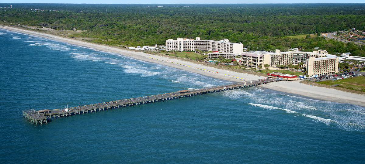 Photo of Springmaid Beach Resort & Pier in Myrtle Beach, SC