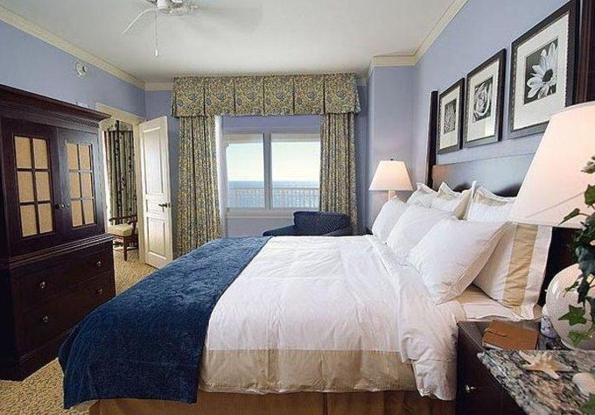 Photo of Guest Room at Marriott's OceanWatch Villas at Grande Dunes Myrtle Beach, SC