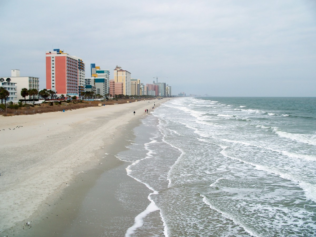 Myrtle Beach Grand Strand where you can find the best Myrtle Beach Hotels.