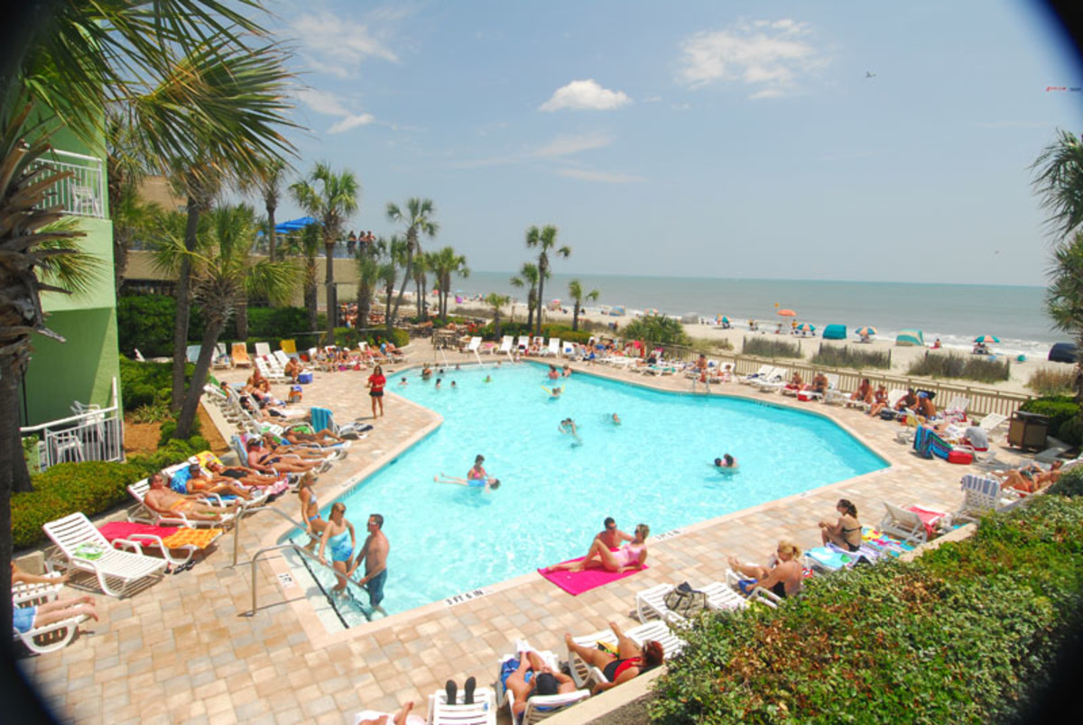 Myrtle Beach Coral Beach Resort Pool Photo